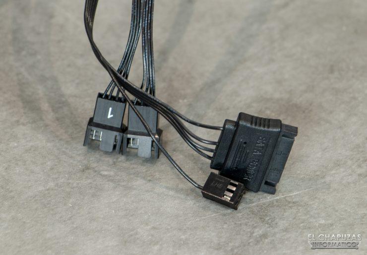 Corsair iCUE H100i RGB Pro XT - Cablaggio