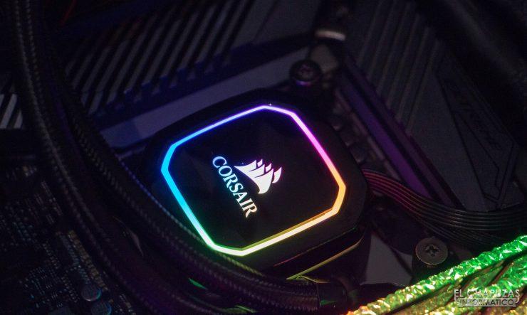 Corsair iCUE H100i RGB Pro XT - Test Set 4