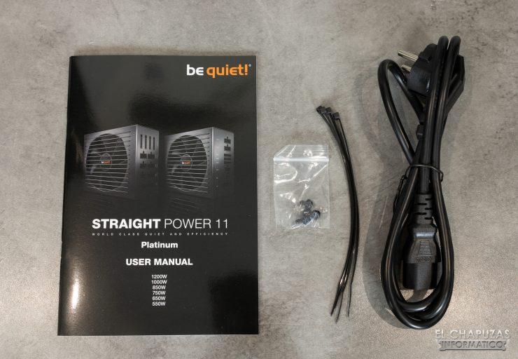 Be quiet! Straight Power 11 Platinum - Accessori