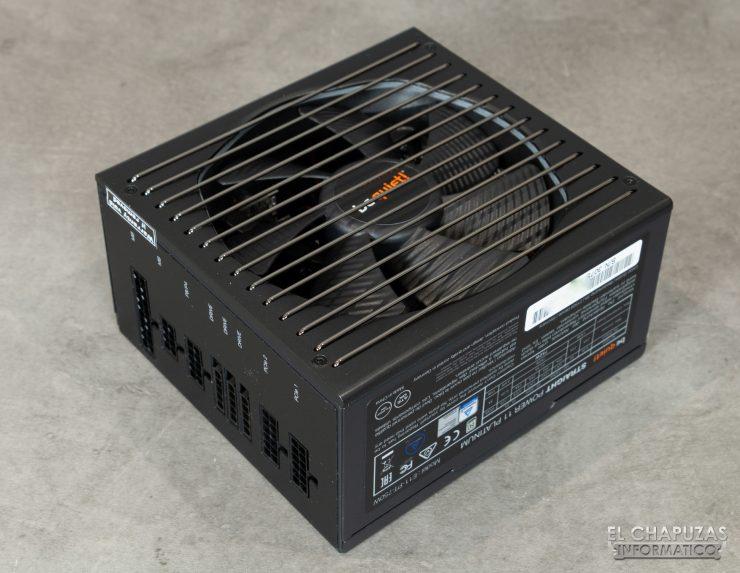 Be quiet! Straight Power 11 Platinum - Vista dall'alto