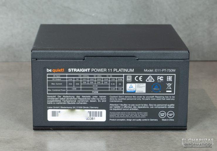 Be quiet! Straight Power 11 Platinum - Adesivo per rotaie