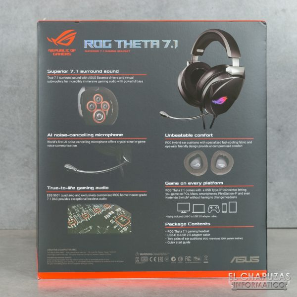 Asus ROG Theta 7.1 - Imballaggio 2