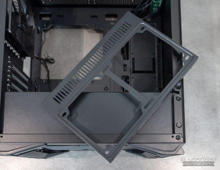Nox Hummer Zero - Interior - Bandeja lado frontal