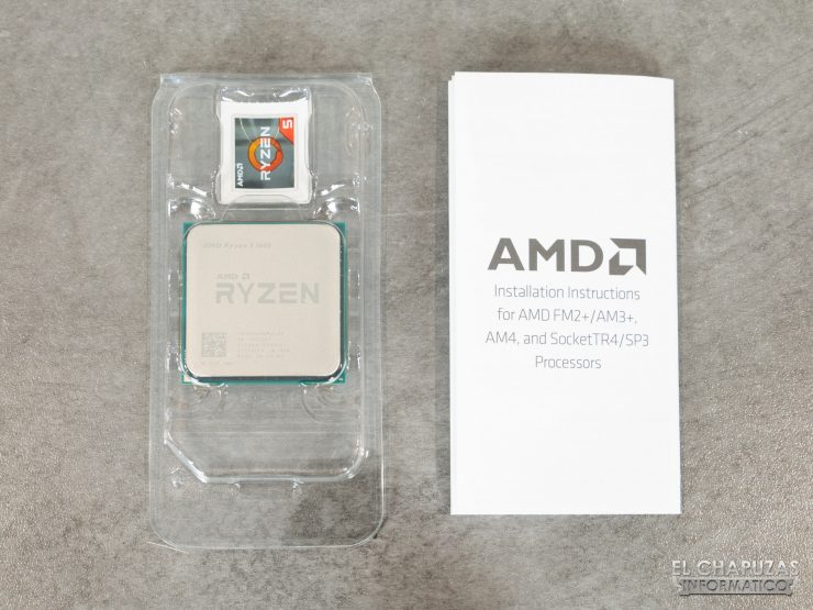 AMD Ryzen 5 1600 AF - Confezione 5