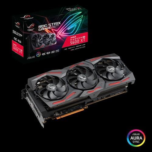 Asus ROG Strix Radeon RX 5600 XT OC - Ufficiale di gara