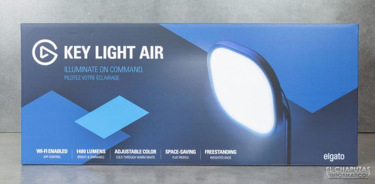 ElGato Key Light Air - Imballaggio frontale