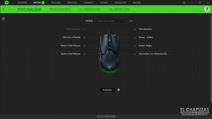 Razer Viper Mini - Software 1