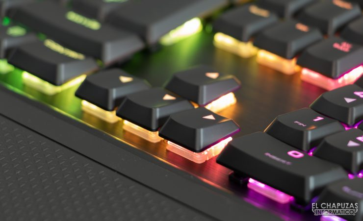 Corsair K70 RGB MK.2 Low Profile - Teclas
