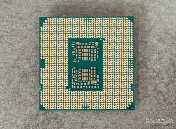 Intel Core i9-10900K - Vista dal basso