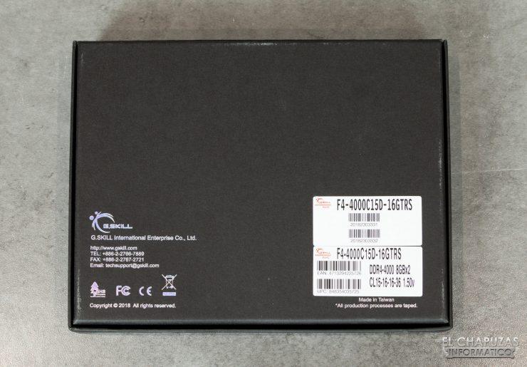 G. Skill Trident Z Royal DDR4 (4000 MHz CL15) - Confezione 2