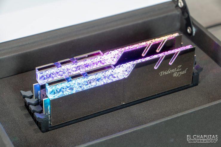 G. Skill Trident Z Royal DDR4 (4000 MHz CL15)