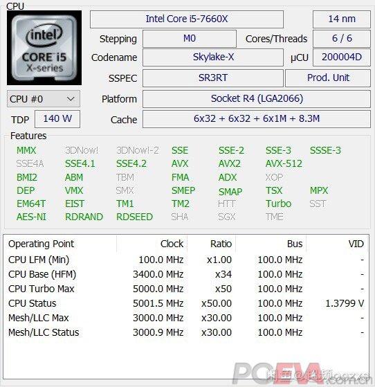 Intel Core i5-7660X