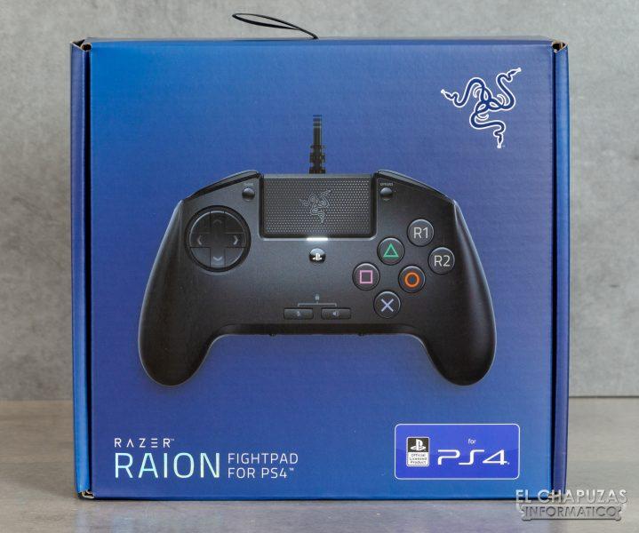 Razer Raion - Confezione anteriore