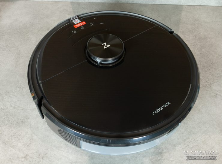 Roborock S6 MaxV - Vista superior