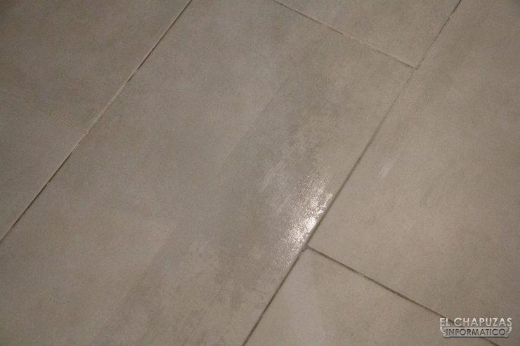 Roborock S6 MaxV - Suelo mojado