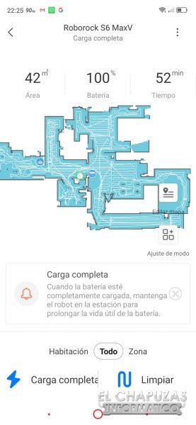 Roborock S6 MaxV - Mapa 1