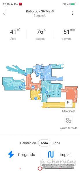Roborock S6 MaxV - Mapa 2