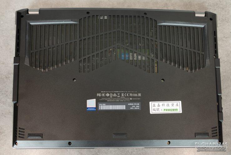 Gigabyte Aorus 17G XB - Base