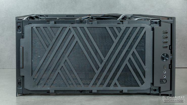 Fractal Define 7 Compact - Interior - Lado superior 2