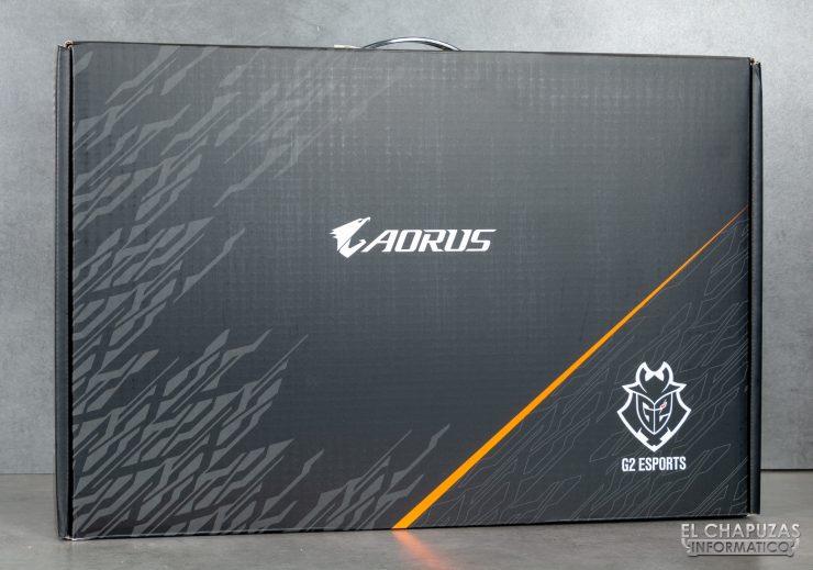 Gigabyte Aorus 17G XB - Embalaje exterior