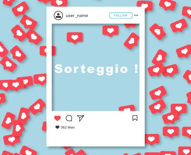 app Instagram Sorteggio
