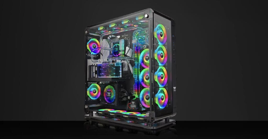 Thermaltake-Core-P8-in Vetro Temperato-18-fan