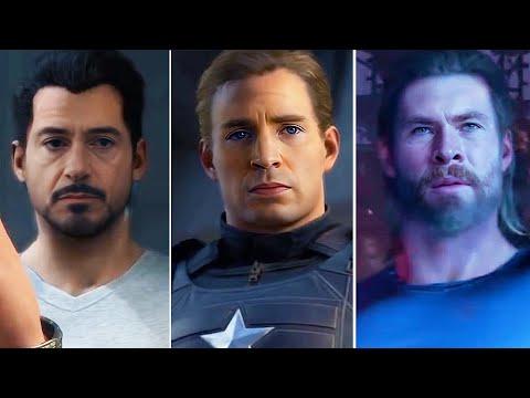Marvel's Avengers Ft. Robert Downey Jr, Chris Evans, Chris Hemsworth, Scarlett Johansson (DeepFake)