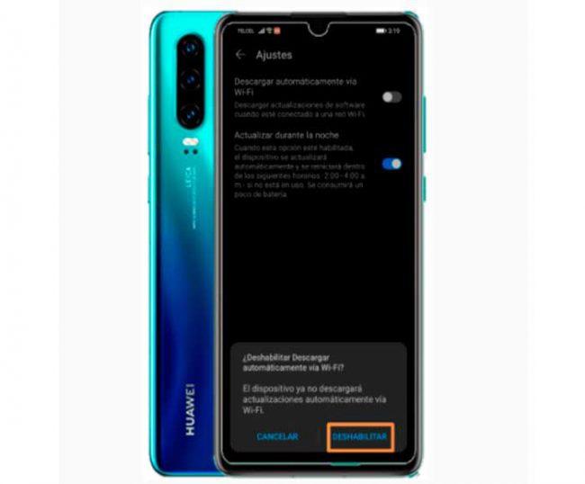 almacenamiento Huawei
