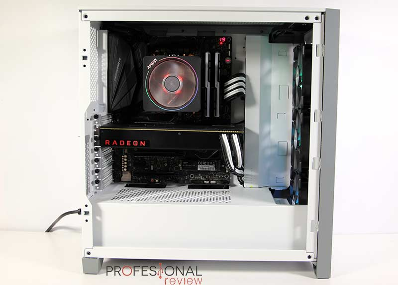 Corsair iCUE 4000X RGB Montaje