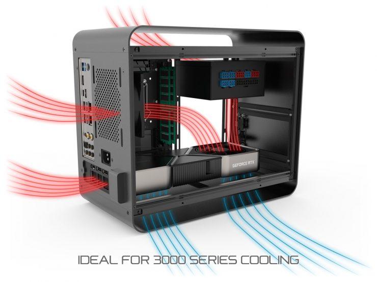 Streacom DA2 V2 con GeForce RTX 3080