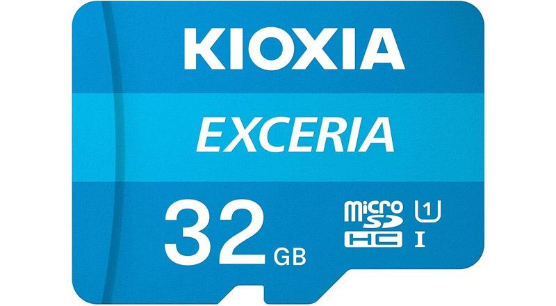 Kioxia Exceria microSD