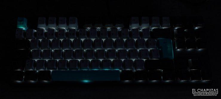 Varmilo VA88M - Illuminazione al buio