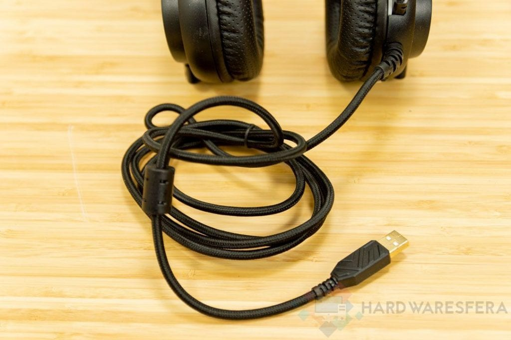 Cavo USB per cuffie MarsGaming MH4X USB