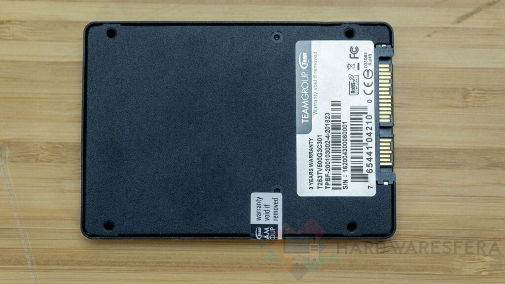 T-FORCE-SSD-GAMING-VULCAN-500 GB posteriore generale