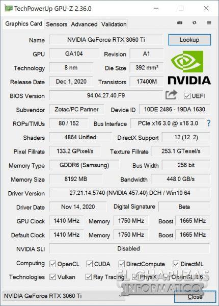 Zotac GeForce RTX 3060 Ti Twin Edge 19 430x600 20