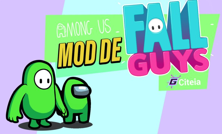 Novità nella mod Fall Guys per la copertina dell'articolo di Among Us