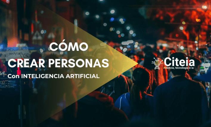 creare persone con intelligenza artificiale. Copertura dell'articolo IA