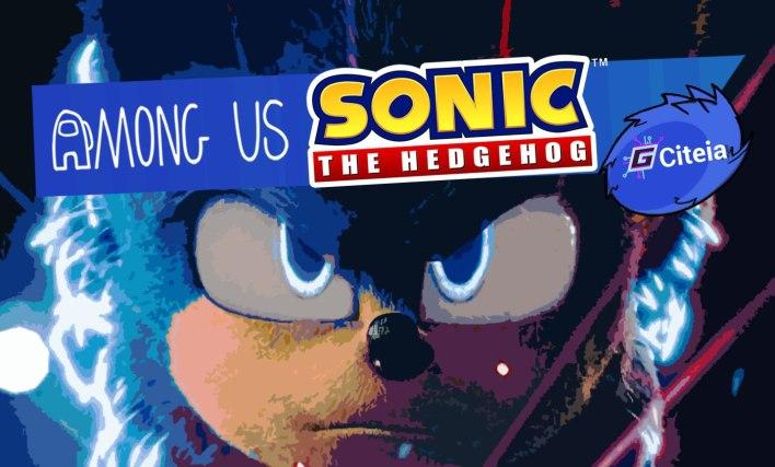 Articolo di copertina del mod di Sonic for Among Us