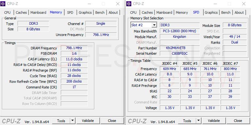 Aumenta il passo 02 della RAM