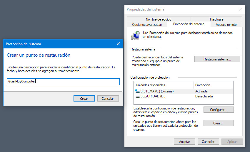 Ripristino configurazione di sistema, un'ancora di salvezza contro gli errori di Windows 10 33