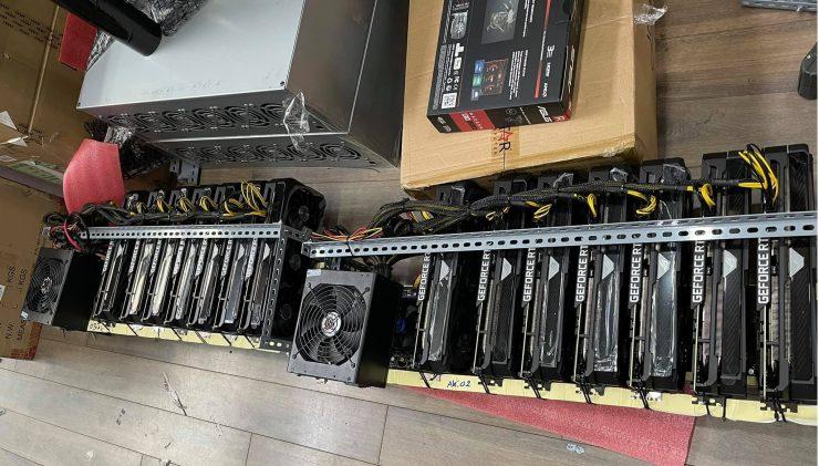 Nvidia GeForce RTX 3080 per il mining di Ethereum