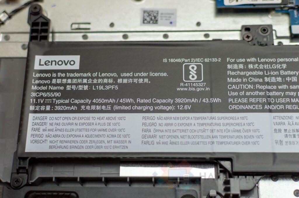Batteria per laptop LENOVO IDEAPAD 3 15IIL05