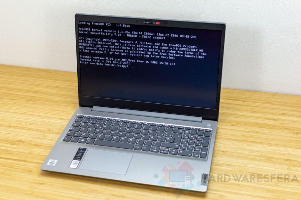 Laptop LENOVO IDEAPAD 3 15IIL05 freedos