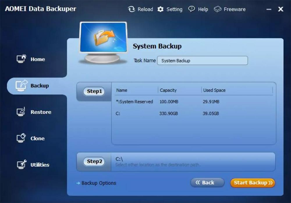 pianificare backup gratuiti