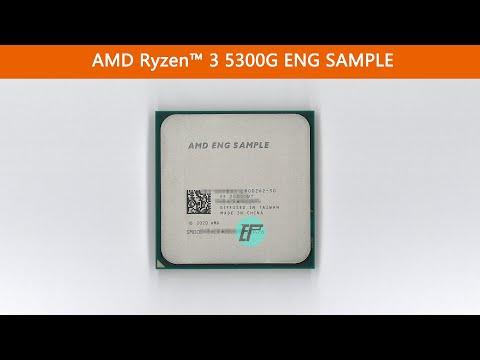 AMD Ryzen 3 5300G / 5350G ENG ESEMPIO 4 Core CPU Breve recensione