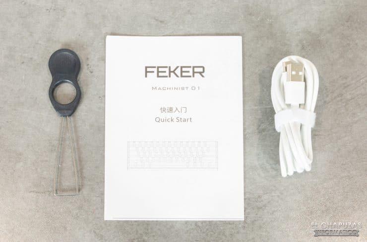 Feker Machinist 01 - Accessori
