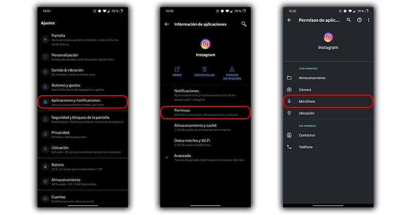 Rimuovi le autorizzazioni del microfono dalle app Android