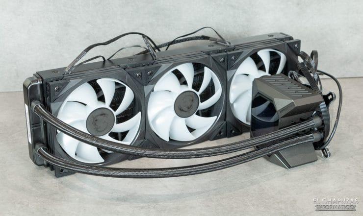 MSI MPG CoreLiquid K360 - Kit con ventole