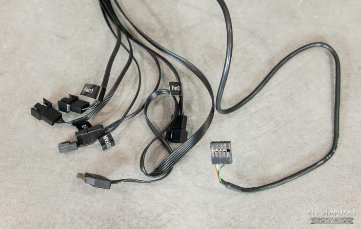 MSI MPG CoreLiquid K360 - Cavi