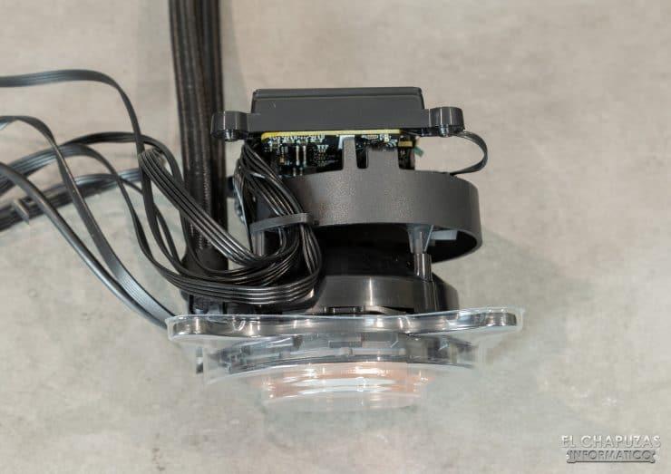 MSI MPG CoreLiquid K360 - Serbatoio